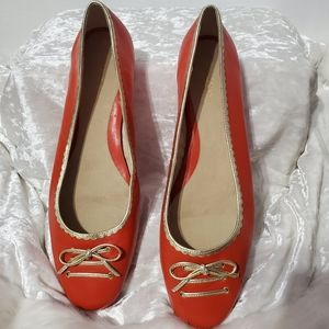 Aerosoles Burnt Orange Flats B9